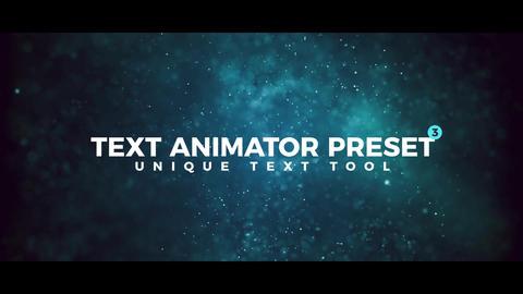 Text Animator Preset V3 Premiere Pro Effect Preset