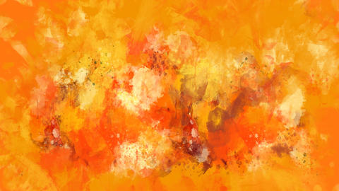 Orange and red watercolor background appears on the alpha channel GIF