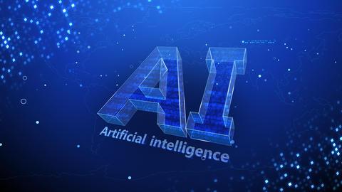 AI artificial intelligence digital network technologies 19 2 Mix 3 blue 4k Animation