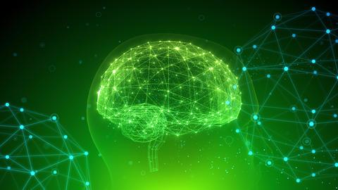 AI artificial intelligence digital network technologies 19 2 Mix 4 green 4k Animation