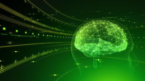 AI artificial intelligence digital network technologies 19 2 Mix 6 green 4k Animation