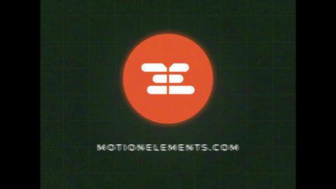 VHS Glitch Logo Premiere Pro Template