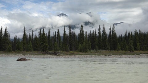 Kootenay National Park, British Columbia, Canada Live Action