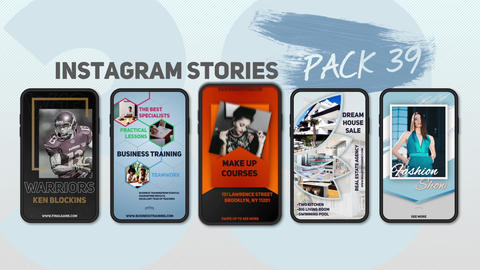 Instagram Stories Pack 39 After Effects Template