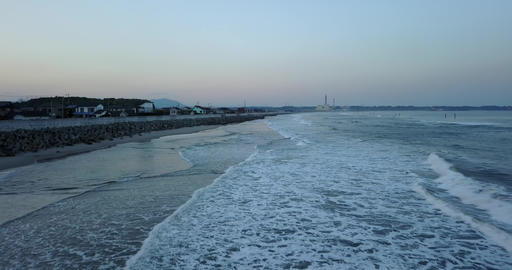 Japan,Japanese,Fukushima,Iwaki,Nakoso,Drone,sky,Pacificocean,country,sea,landscape Archivo