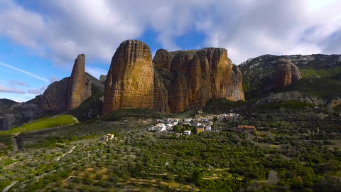 Riglos mountains Footage