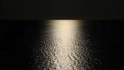 Dark Ocean With Horizon Live Action