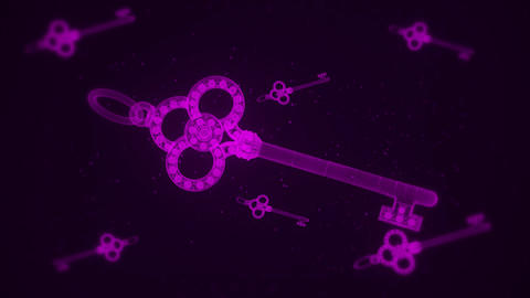 Purple Abstract Keys VJ Loop Motion Graphic Background Animation