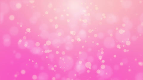 Romantic pink glowing background Animation