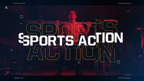 Sports Acton After Effects Template