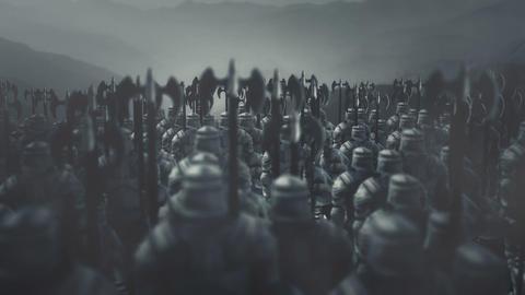 Dark Army Preparing For Battle Archivo