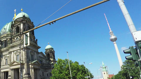 Berlin Cathedral. Berliner Dom Live Action