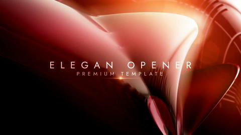 Elegant opener After Effects Template
