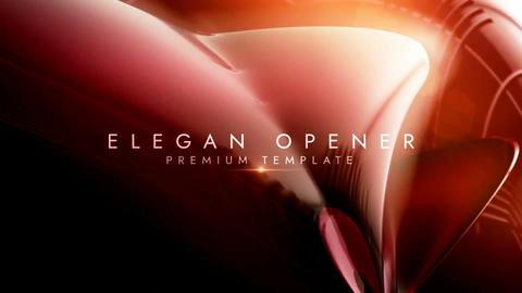 Elegant opener After Effectsテンプレート