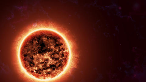 The earth turning around the sun Archivo
