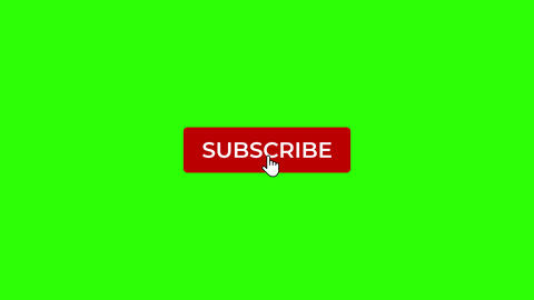 Click on Like, Subscribe and Notification Bell on Green Screen Animation