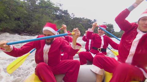 Santa Claus Team Building In Rapid Live Action