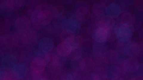 Rotating Blinking Blue and Violet Bokeh Background Animation