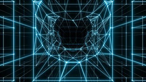 VJ Neon Wire CG動画
