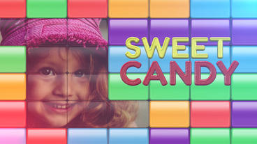 Sweet Candy Plantilla de Apple Motion
