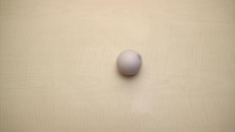 rolling the ball on table / Rolling the Ball Footage