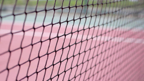 Tennis net - close up Footage