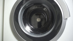 Washing machine washes clothes Footage