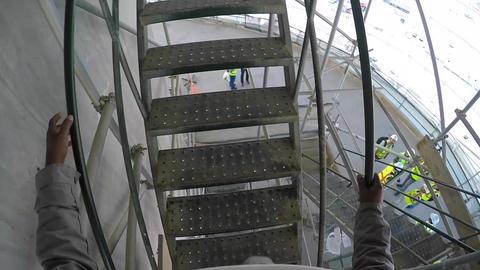 Worker s Eye Insıde Construction Footage