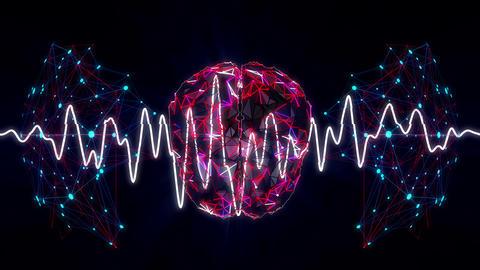 Neuro Vj 4K 03 Vj Loop Stock Video Footage