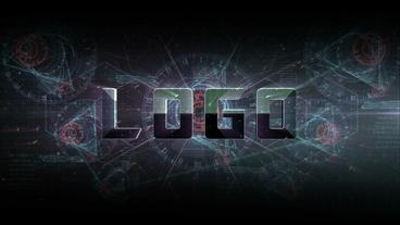 Infographic Text Logo After Effects Template