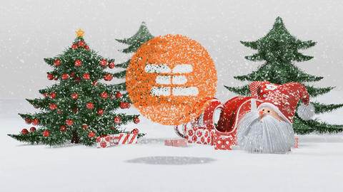 Christmas Santa Opener 2 Plantilla de After Effects