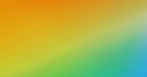 Yellow Green Blue Gradient Abstract Background Looping as Modern Pattern Footage