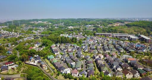 Japan,Tokyo,Inagi,Wakabadai,Keio,Drone,sky,Nature Live Action