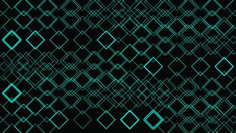 Glow Shapes Geometric Pattern Stock Video Footage