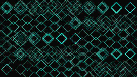 Glow Shapes Geometric Pattern Animation