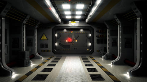 Sci Fi Door Transition Animation