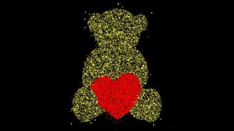 Love Looping Particles Version 2 CG動画