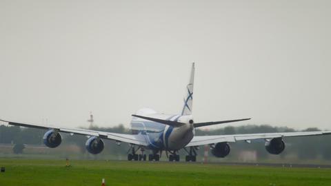 AirBridgeCargo Boeing 747 departure Archivo