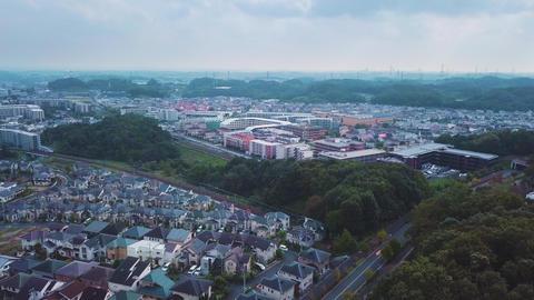Japan,Tokyo,Kanagawa,Inagi,Tama,Kawasaki,Kurokawa,Haruhino,Drone,sky,Nature,MountainKeio,Odakyu Footage
