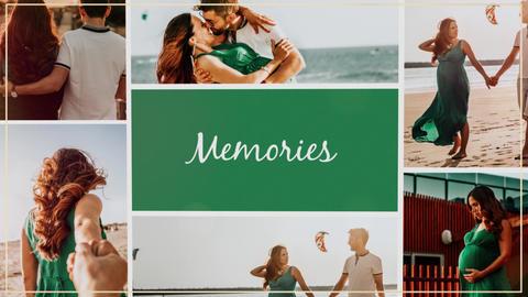 Memories Slideshow Premiere Proテンプレート