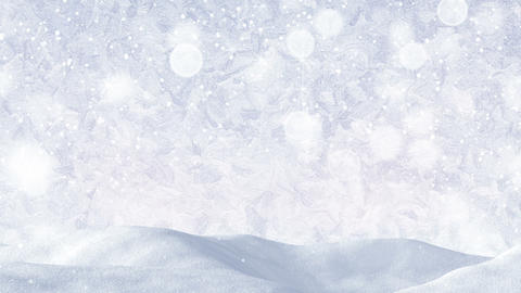 white christmas background loopable Animation