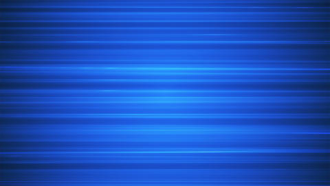 Broadcast Horizontal Hi-Tech Lines, Blue, Abstract, Loopable, 4K Animation