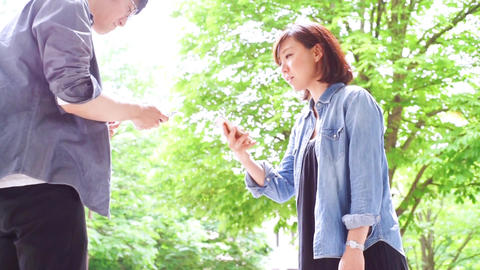 Exchange of contacts (fresh green, men and women) ライブ動画