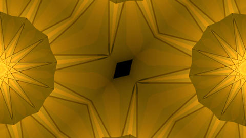 Gold background reflective shine light particles Animation