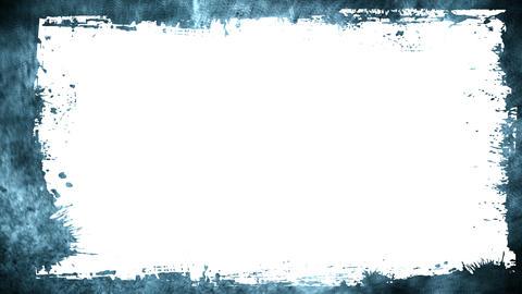 Grunge Frame stock footage