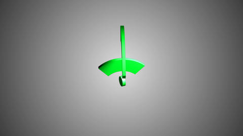 Isometric Wi-Fi network icon animation Animation