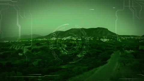 Cyber Eye interference Animation