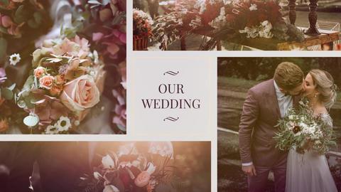 Wedding slideshow Premiere Pro Template