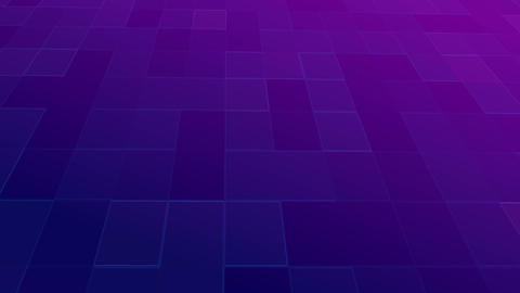 Abstract violet retro color shine square background CG動画