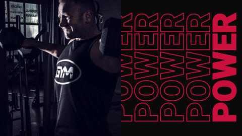 Workout Power Intro After Effects Template